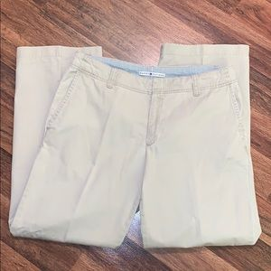Tommy Hilfiger Size 14 Stone Wide Leg Pants